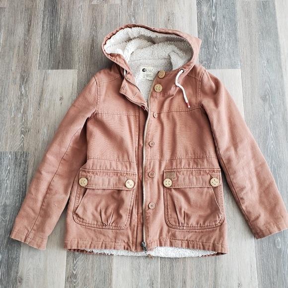 Billabong Jackets & Blazers - Billabong Fleece Lined Jacket